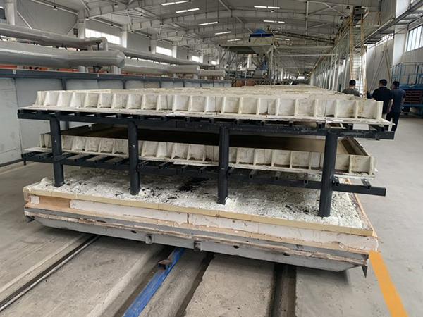 横梁和立柱在泡沫陶瓷行业的应用